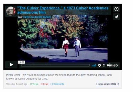 culver experience 1973 film icon