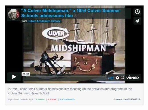 culver midshipman 1954 film icon