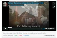 culver summer admissions 92 film icon