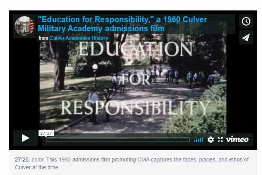 education resposibility 1960 film icon
